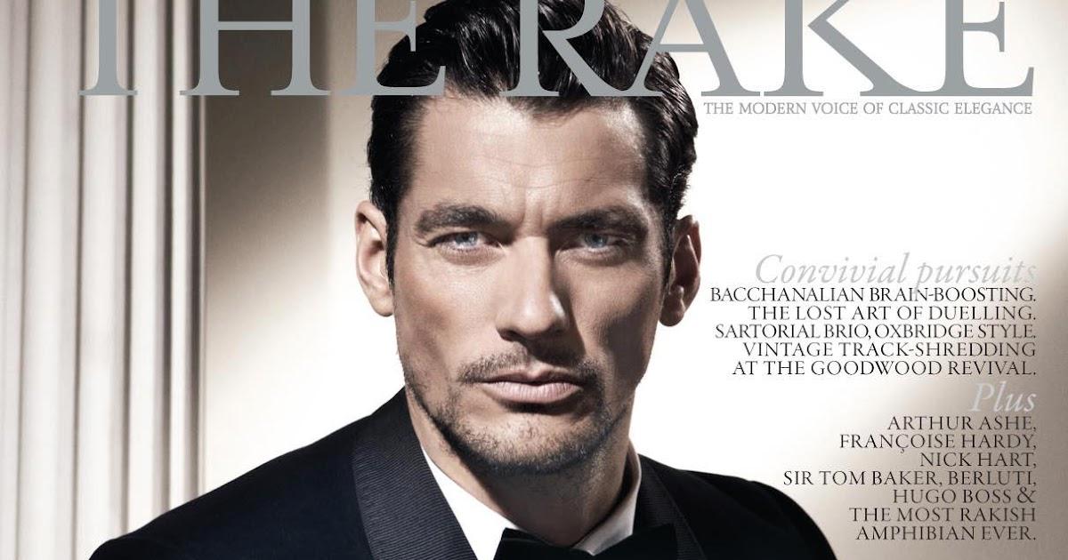 David Gandy Covers Rake Magazine Nov 2012 Interview Update