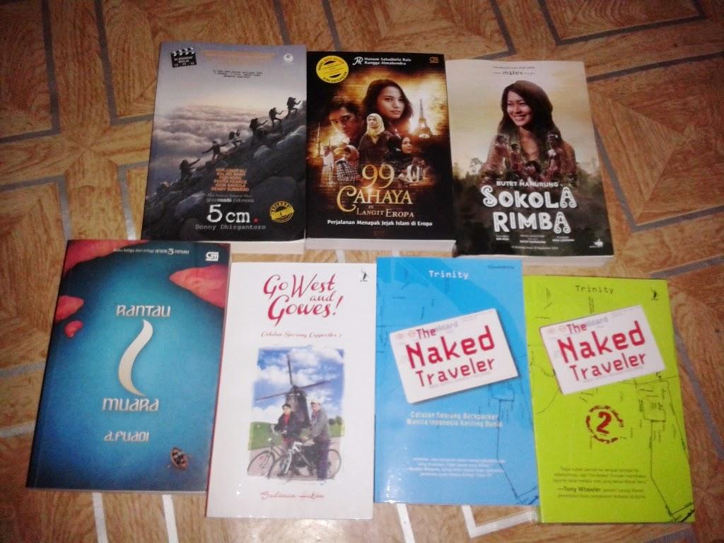 Koleksi novel yang aku beli 2013-2014
