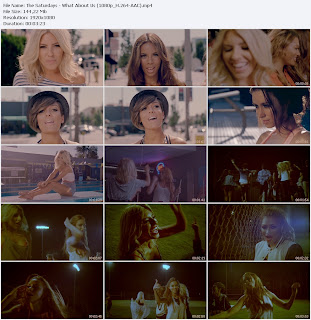 The Saturdays - What About Us (2012) HD 1080p_H.264 Free Download