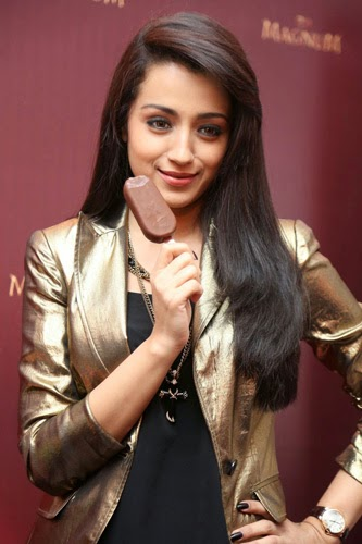 Trisha Photos Launching Magnum Ice Cream Photos