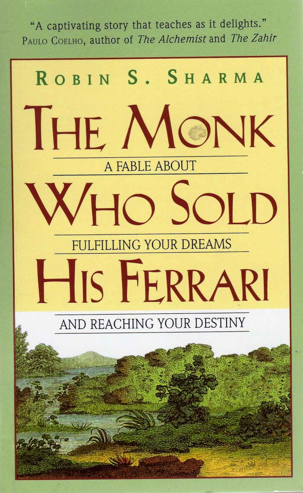 Write Stuff Book Review The Monk Who Sold His Ferrari