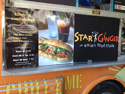 Vegan options from the Star Ginger Food Truck
