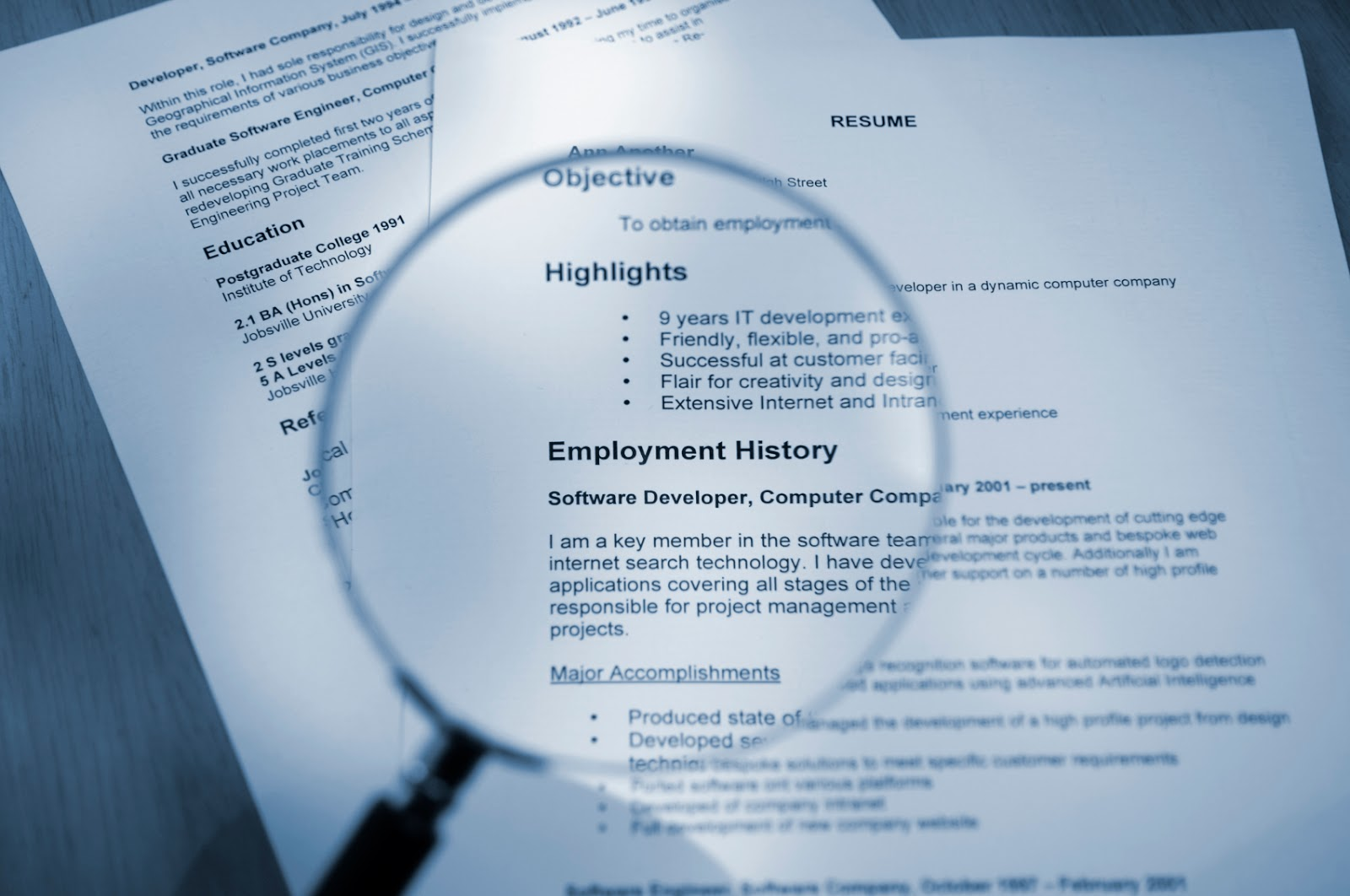Hire a Hero, Hire a Vet®: Resume 101 - How to Read and Identify ...