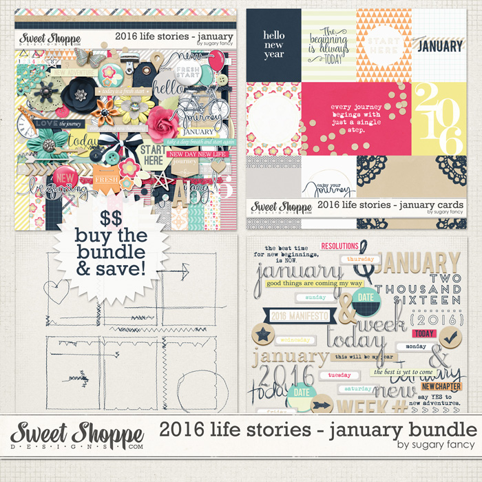 2016 Life Stories January Collection