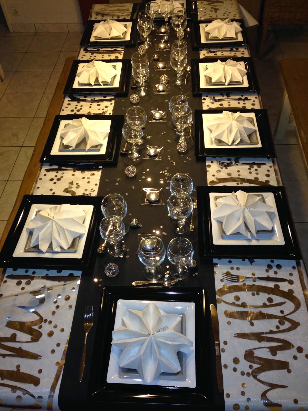 D coration home pat comment d corer votre table de for Decoration fete de fin d annee