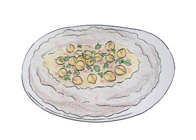 draw hummus