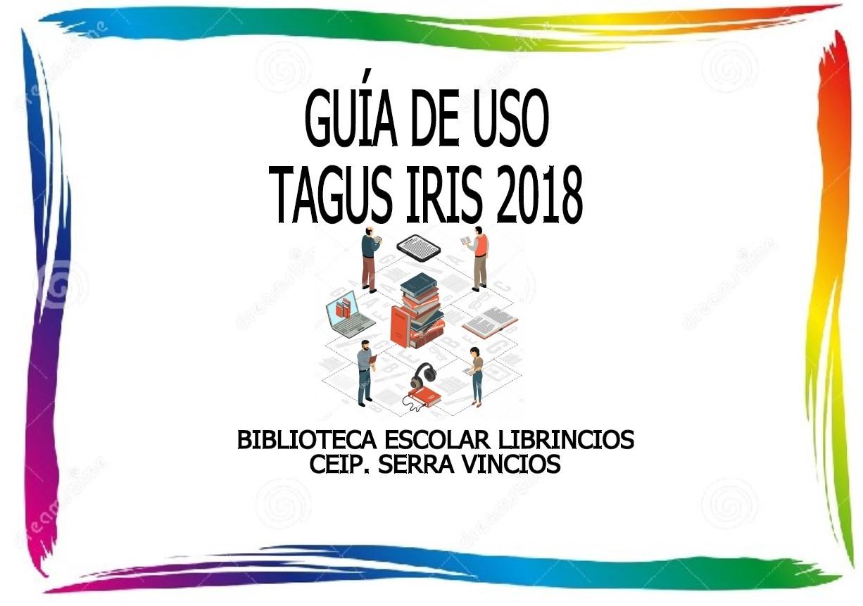 GUÍA DE USUARIO TAGUS IRIS