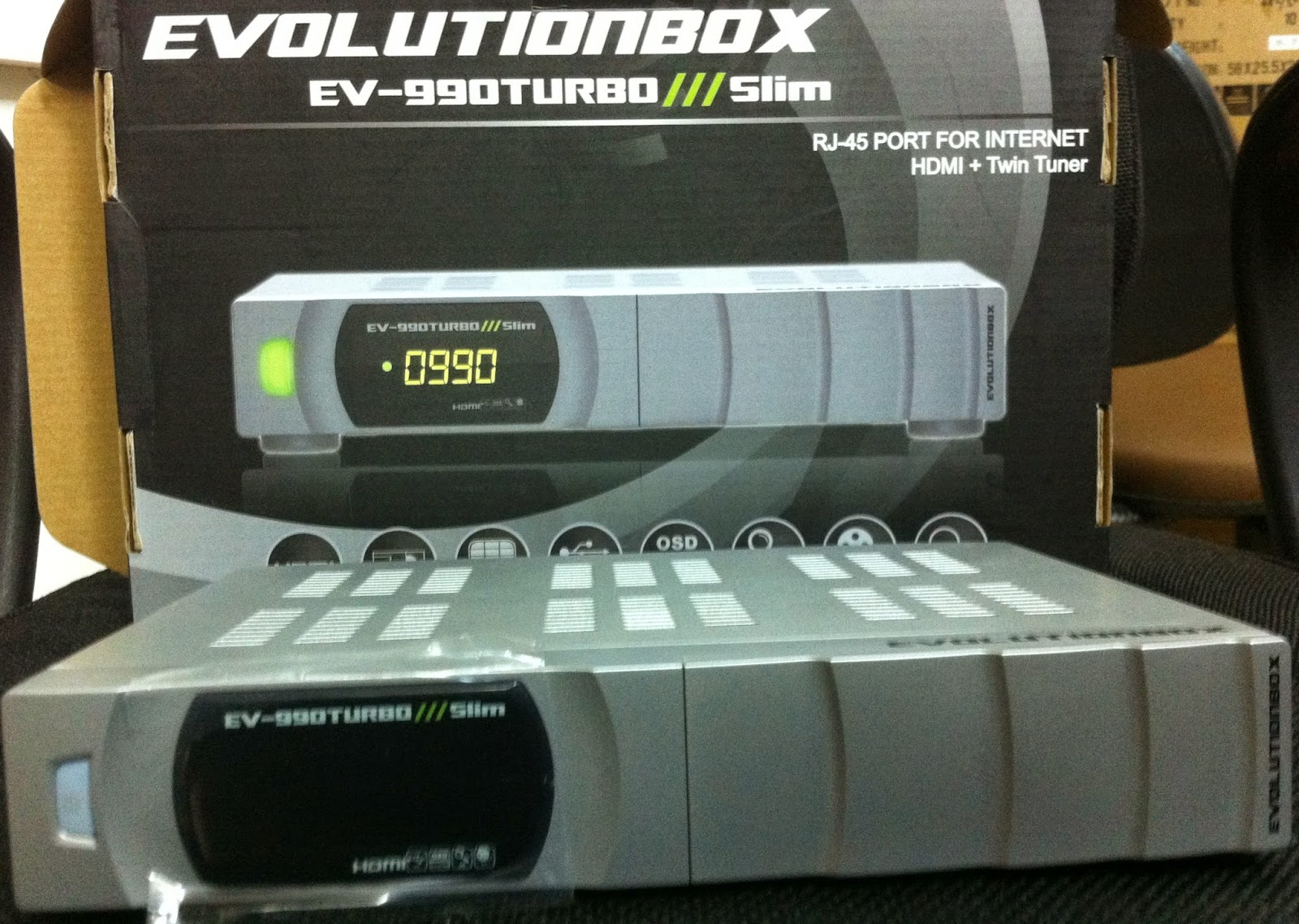 EVOLUTIONBOX EV 990 TURBOX SLIM NOVA ATUALIZAÇÃO v2.35 - 30-04-2015
