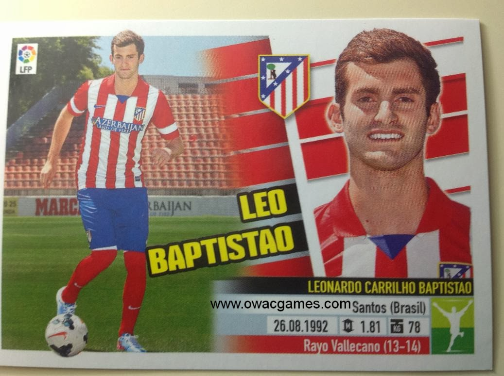 Liga ESTE 2013-14 Atl. de Madrid - Últimos Fichajes 8 - Leo Baptistao