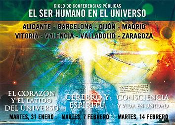 Ciclo de conferencias públicas: EL SER HUMANO EN EL UNIVERSO