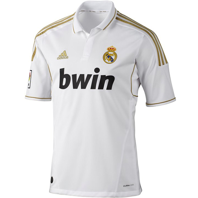 camiseta Real Madrid 2012