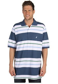 nautical tall polo shirt