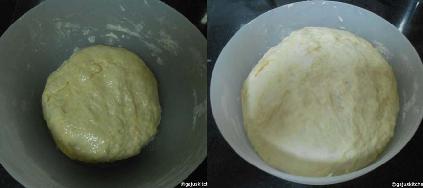 Dough for Pizza base
