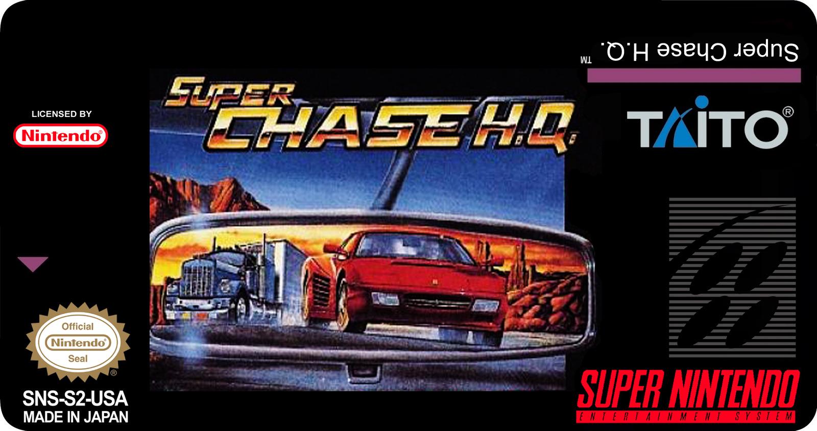 super chase hq snes