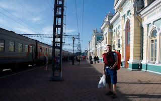 Llegada final a Irkutsk, transiberiano 2015