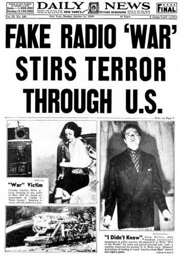 The Myth of the War of the Worlds Panic