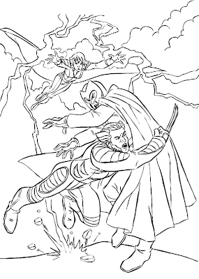 Desenho como desenhar Super heroi Magneto    pintar e colorir