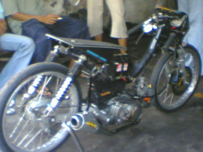 MOTOR DRAG Matic Drag aneh motor drag dipreteli | Racing look