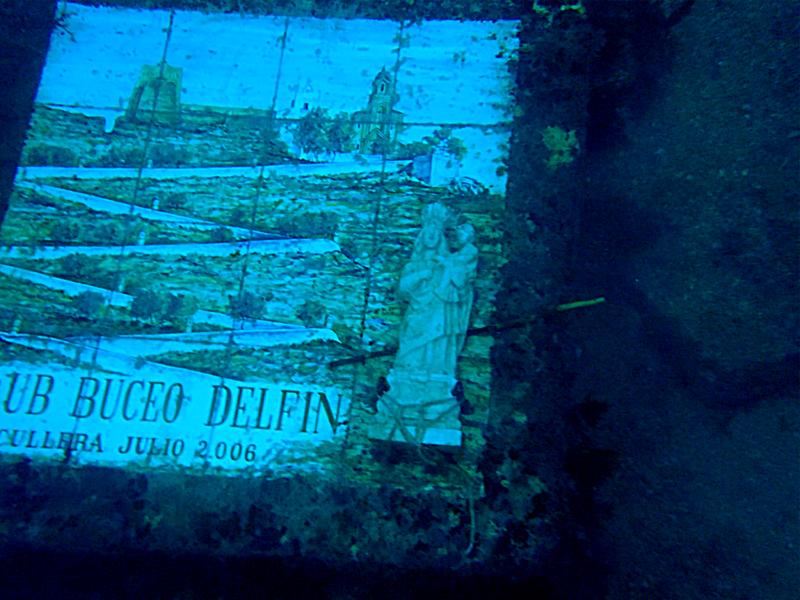 DiveLog - Inmersión en La Virgen de Cullera