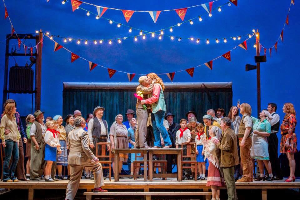 The Bartered Bride - Opera North 2014 Photo Credit: Robert Workman