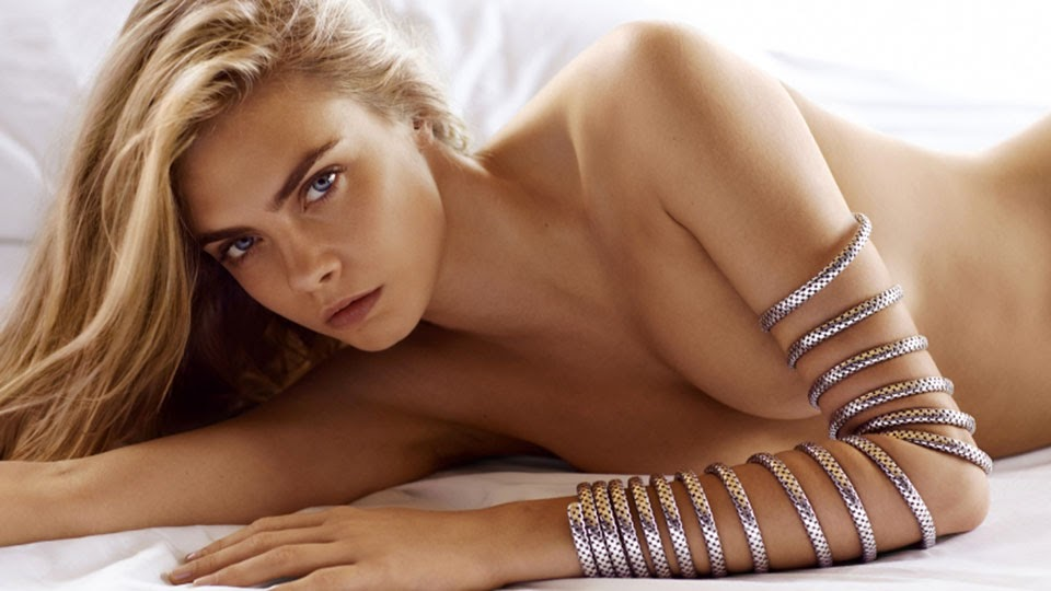Cara Delevingne poses for the John Hardy Spring/Summer 2015 Campaign