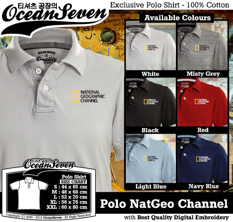 Kaos Polo NatGeo Channel