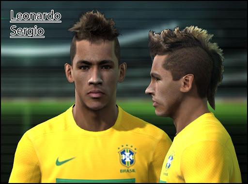Neymar Face by Leonardo & Sergio