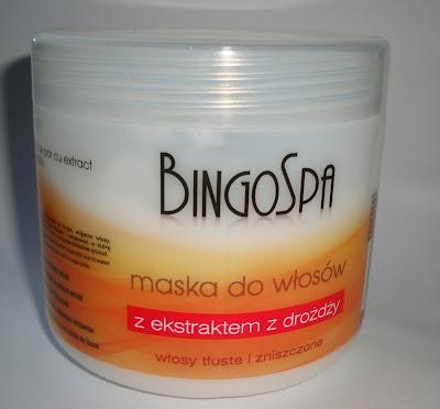BingoSpa - maska do włosów z ekstraktem z drożdży - recenzja