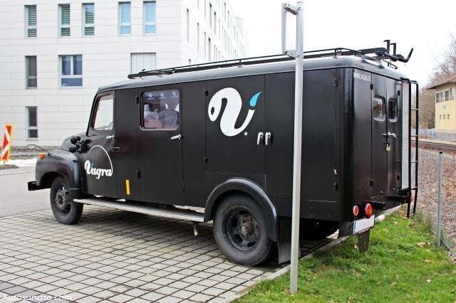 Kässborher Opel Blitz Feuerwehrauto