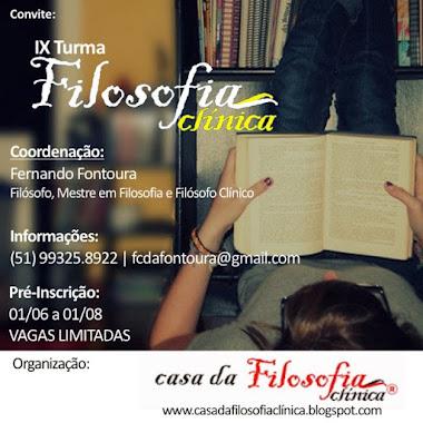 Filosofia Clínica em Porto Alegre na Casa da Filosofia Clínica. Bem vindos!