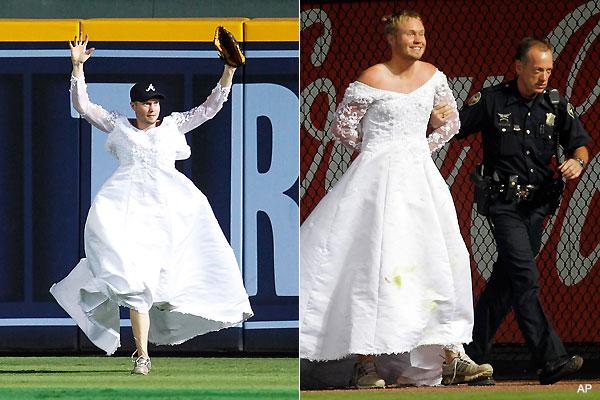 Men Wearing Wedding Dresses