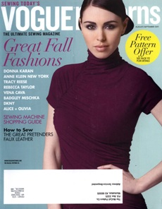 Vogue Patterns August/September 2011