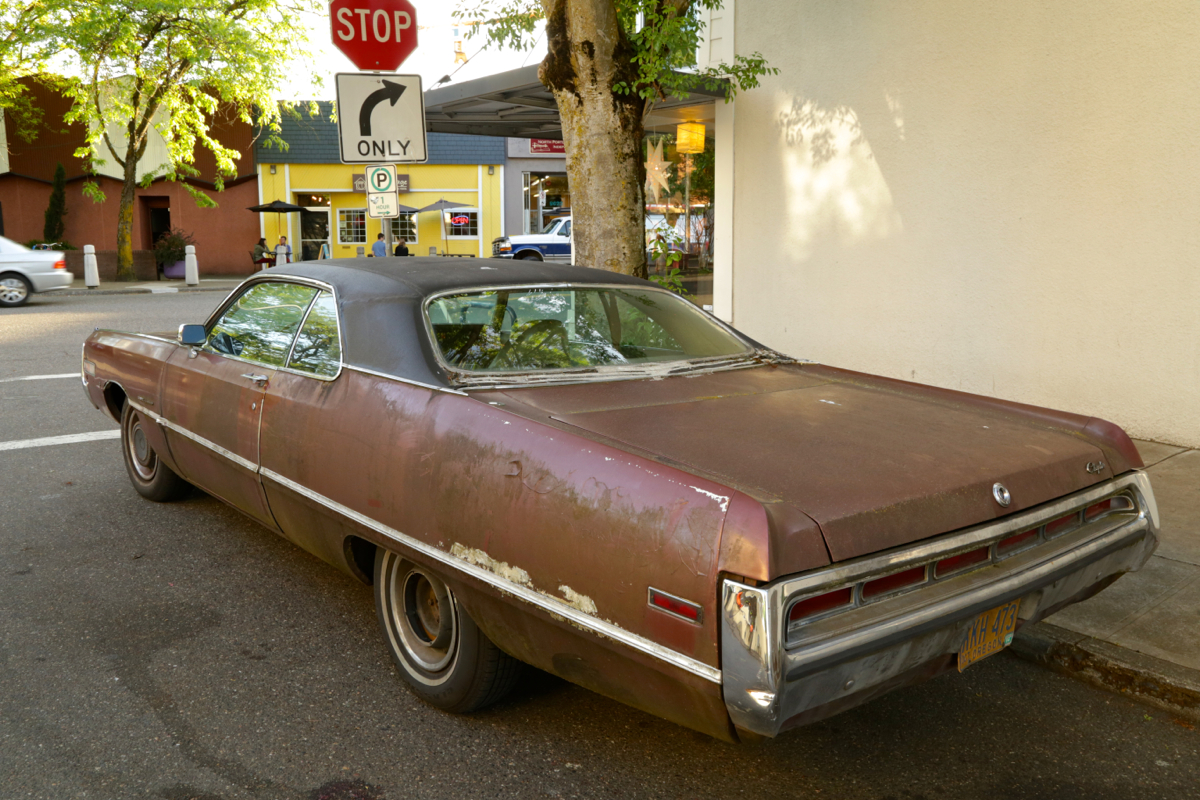 1971 Chrysler 300 coupe.