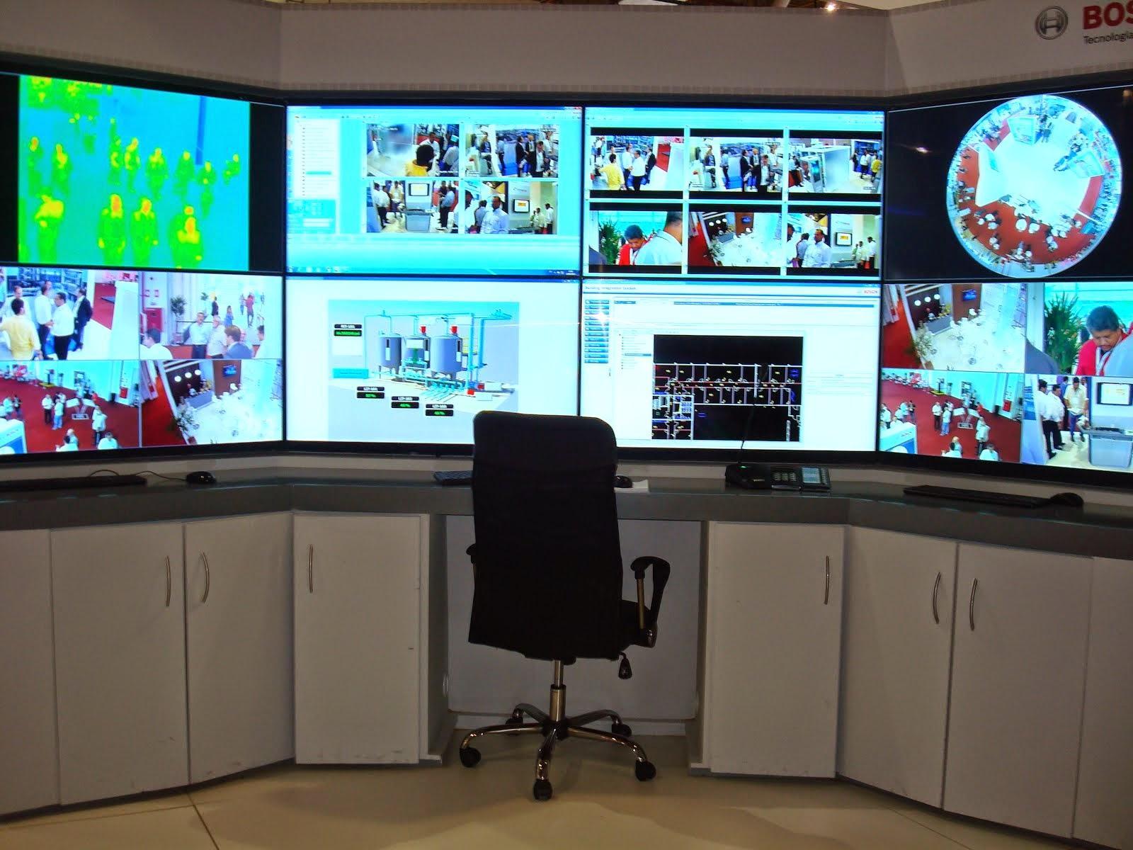 Central de  monitoramento Bosch