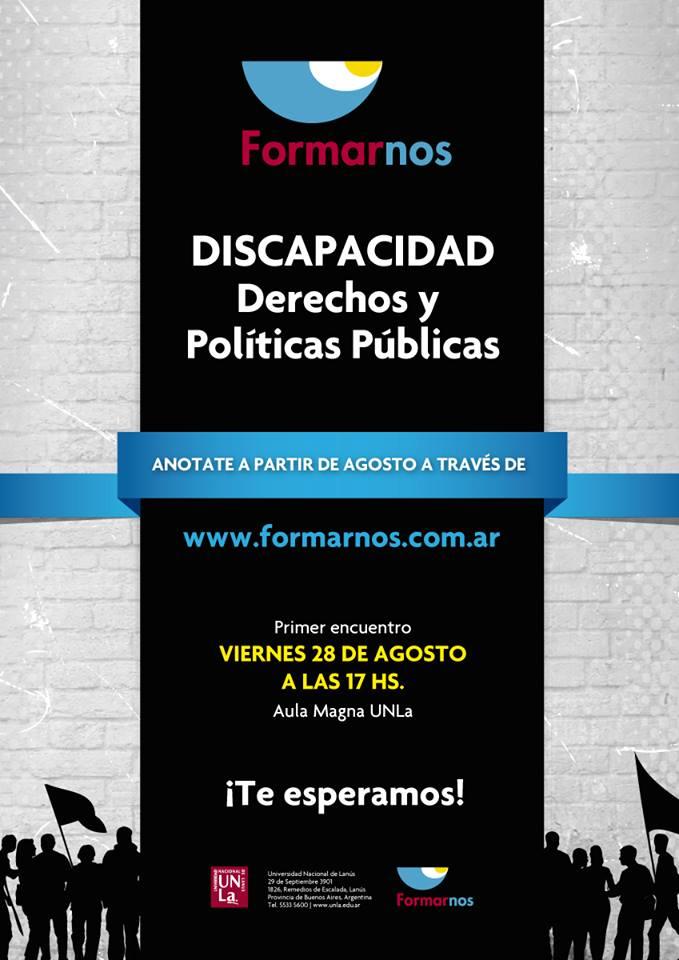 Discapacidad, derechos y políticas públicas.