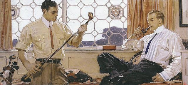 J. C. Leyendecker Golf Men Illustration