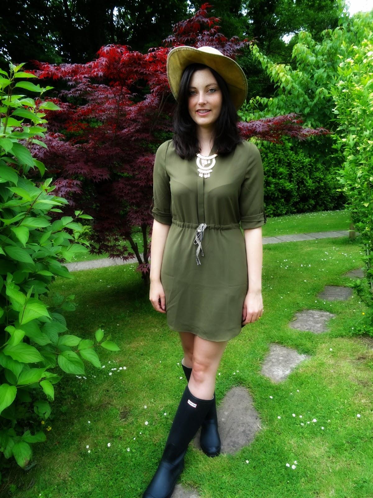 Glastonbury festival wear Tarp Hat