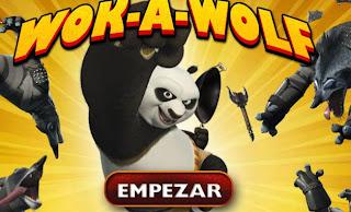 Kunfu Panda vs lobos bandidos