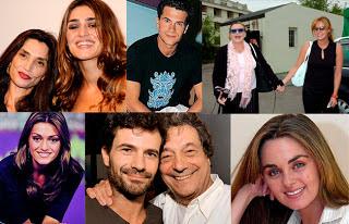 Ángela y Olivia Molina, Rodolfo Sancho y Sancho Gracia, Rocío Dúrcal y Carmen Morales