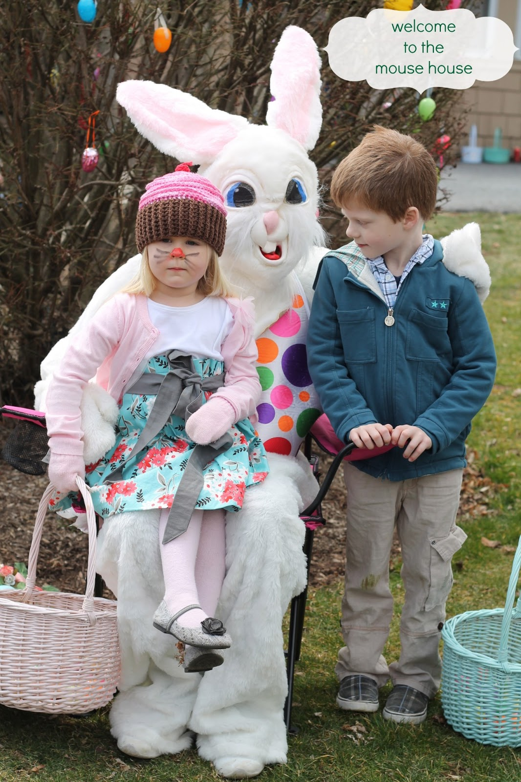 happy easter and a funny bunny welcometothemousehouse com