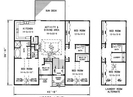 Planos casas modernas planos de casas de 2 pisos con medidas for Planos para casas de dos pisos modernas