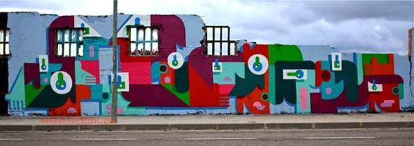Graffiti de Piko , Chema Ballester de Igualada
