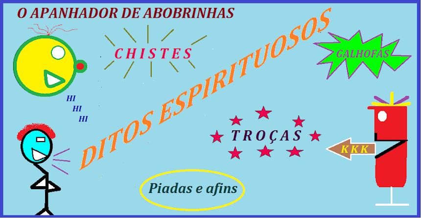 O APANHADOR DE ABOBRINHAS