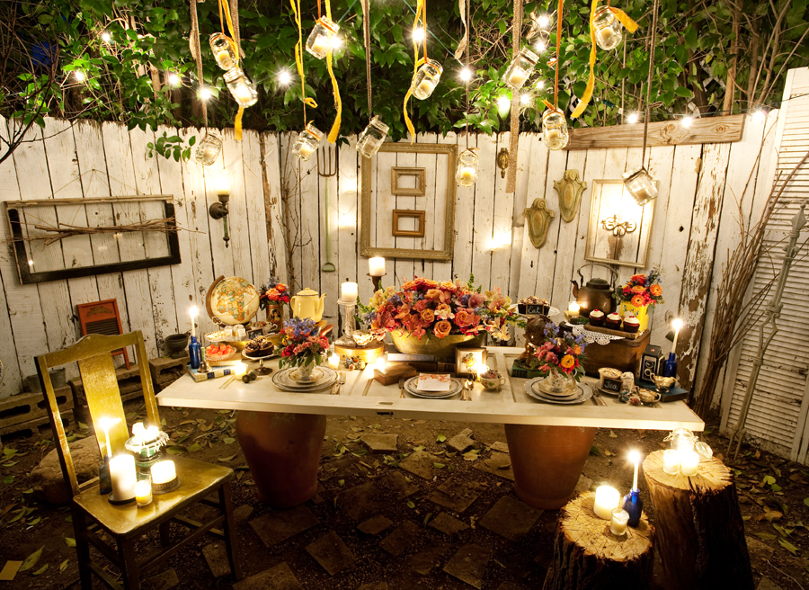 Winter Backyard Party Ideas : Jacqueline Ahne of Floral Design By Jacqueline Ahne did such an