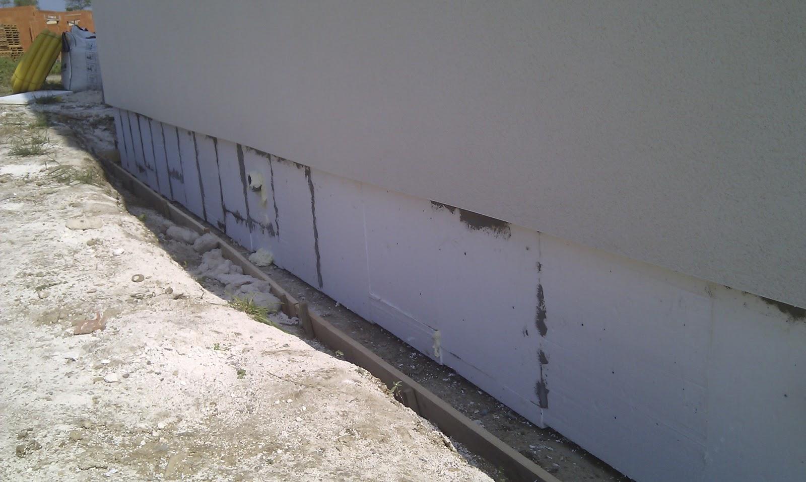 Ma maison bioclimatique isolation des soubassement for Soubassement d une maison