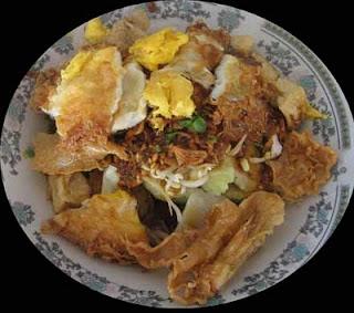 Makanan Khas Indonesia Menggunakan Bumbu Kacang - tahu gimbal