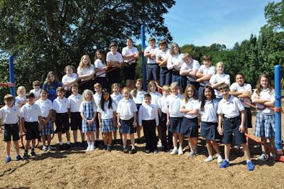 Montgomery Catholic Preparatory School Recognizes 55 4th-6th Grade Students who Qualify for Duke TIPs 2