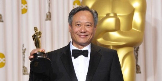 Ang Lee winning Best Director for Life of Pi