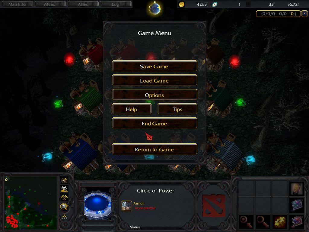 WarDotA 2 - (Dota 2 en Warcraft III) by Tihloh - Página 15 DotA+1.5+%2528Custom+Cursor+%2526+Menu%2529