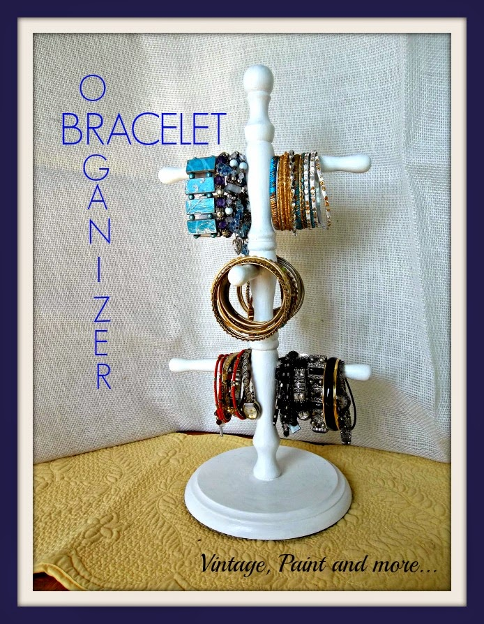Tweak It Tuesday - DIY bracelet organizer